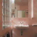 Malermeister Jens Meyer: Badezimmer mit einer Spachteltechnik